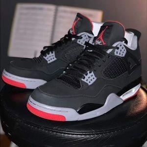 Nike Air Jordan 4 BRED Men's Size 11